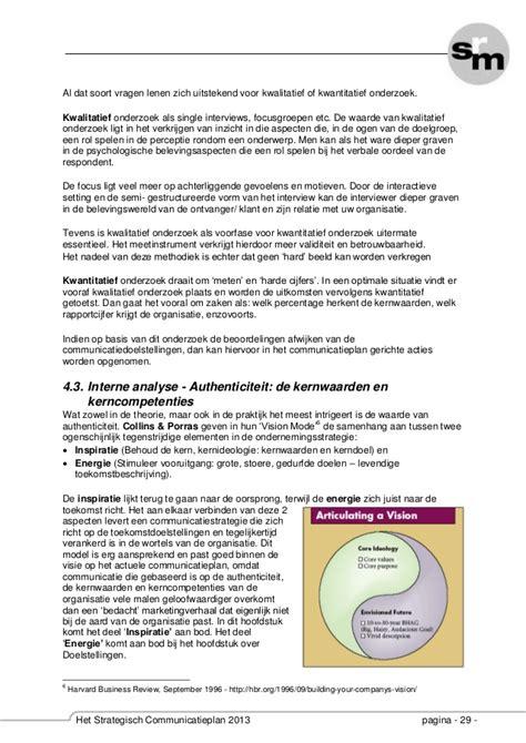 Srm Mba Syllabus 2013 by Srm Het Strategische Communicatieplan 2013 Syllabus