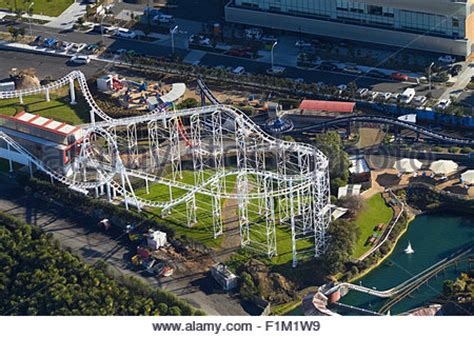 theme park new zealand north island roller coaster rainbow s end theme park manukau
