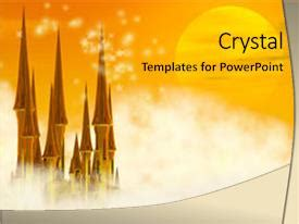 Powerpoint Template Golden Fairy Tale Castle Bgbdbac Tale Template Powerpoint