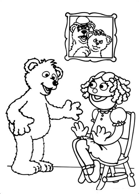 free printable sesame street coloring pages kids