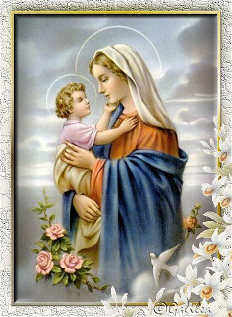 imagenes de la virgen maria y su hijo santa mar 237 a madre de dios y madre nuestra mar 237 a