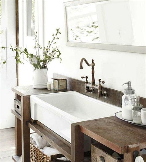 country living bathrooms sinks rustic bathrooms and bathroom on pinterest