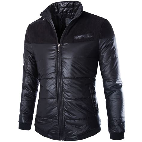 design cooling jacket cool design winter jacket men 2016 new fashion black mens