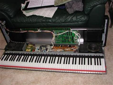 Pf P accessing the keyboard on clavinova pf p 100