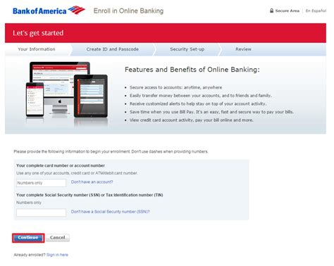 banking login bank of america banking login banklogindir