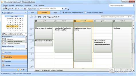 2 Calendrier Outlook Comment Imprimer Un Calendrier Avec Outlook 2007