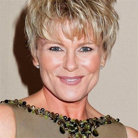 hairstyle square face older women very short layered hairstyles for fine hair google