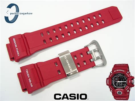 Casio G Shock Gw 9400rd 4 pasek casio g shock rangeman gw 9400rd 4 gw 9400 czerwony