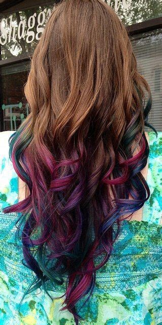colored hair tips 25 best ideas about hair tips dyed on colored