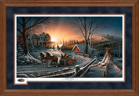 Elglow Top Terlari Limited terry redlin 2011 framed oak annual limited edition