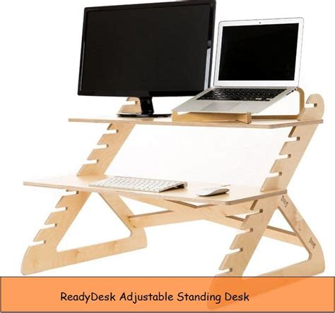 Desk Top Height by Best Height Adjustable Desk For Devices Macbook Imac Pc
