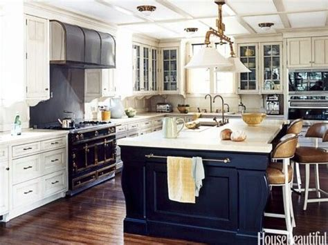 Navy And White Kitchen by Navy White Kitchens Interior Design