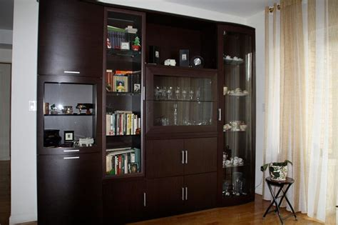 Wall Units Furniture Living Room Wall Unit Contemporary Living Room New York By Mig