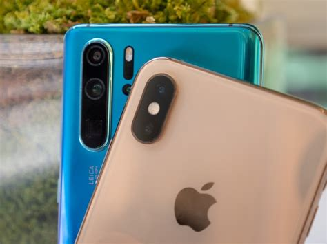 huawei p pro  iphone xs camera comparison imore
