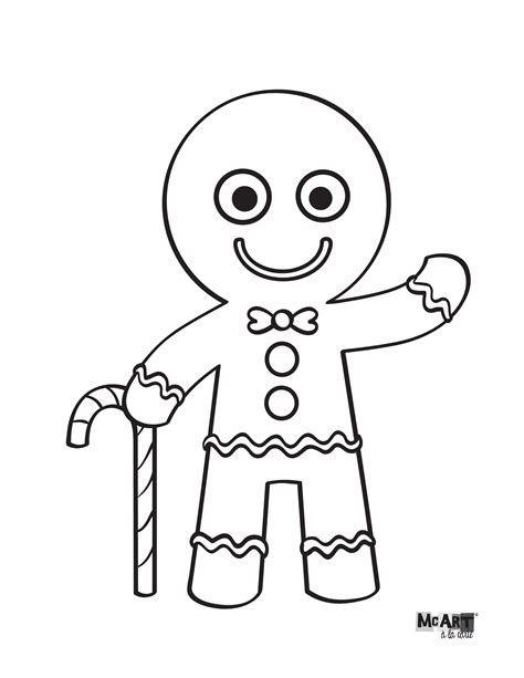 gingerbread color gingerbread coloring page coloring pages