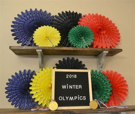 easy olympic ideas with free printables