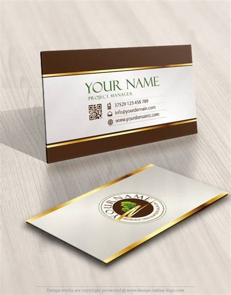 luxury business card template free exclusive logo template luxury tree logo image free