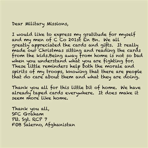 Letter To Servicemen Archives Page 5 Of 6 Missions Supporting Veterans And Their