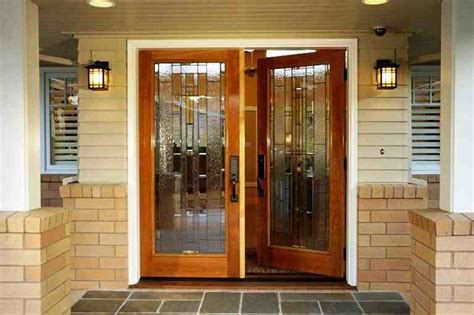 desain pintu depan rumah minimalis modern harga model kusen pintu minimalis terbaru kayu