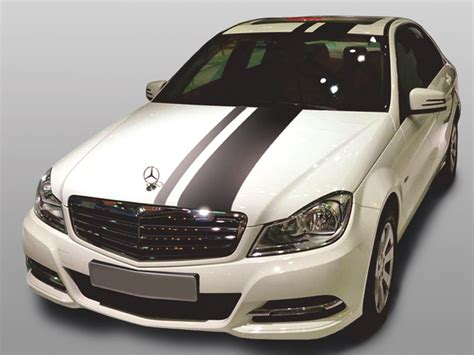 Auto Folie Muster Bestellen by Tuning Shop Auto Folie Rallye Streifen Silber