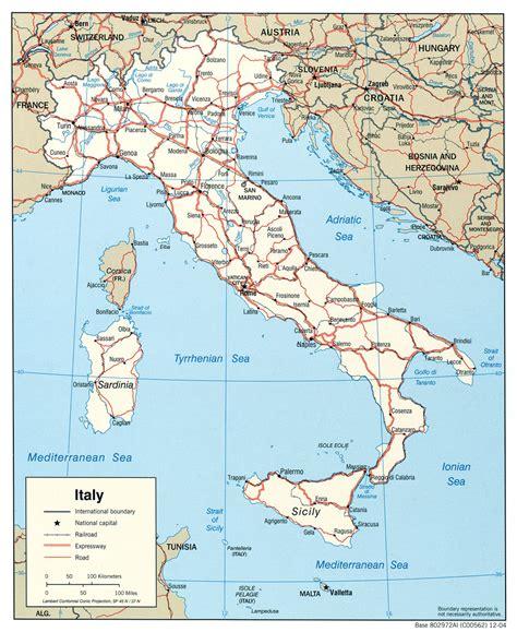 d itala cartes d italie