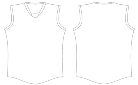 blank basketball uniform template images templates
