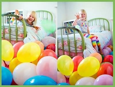 how many balloons to fill a room fill room with balloons on their birthday morning for kiddos birthday