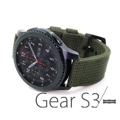 Samsung Gear S3 Frontier Classic Sport Nylon Watchband