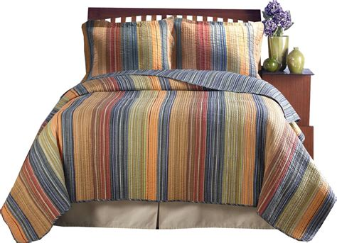 striped coverlet beautiful reversible modern stripe grey red orange brown