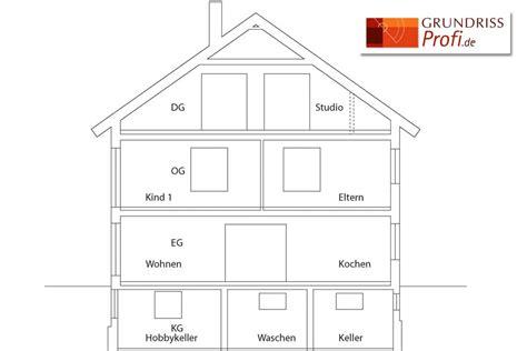 haus schnitt zeichnen schnitt zeichnen fig schnitt - Haus Schnitt Zeichnen