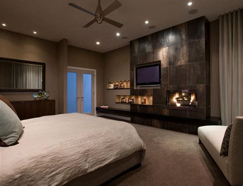 bedroom fireplace design ideas dramatic contemporary bedroom by michael abrams
