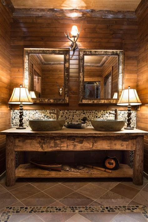 rustic sinks bathroom best 25 rustic bathroom vanities ideas on pinterest