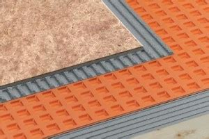 Ditra Mat Thickness by Schluter Waterproofing Systems