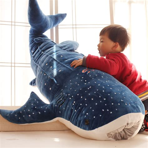 giant large shark pillow fish fishing cabin decor huge compare prices on sharks stuffed animals online shopping