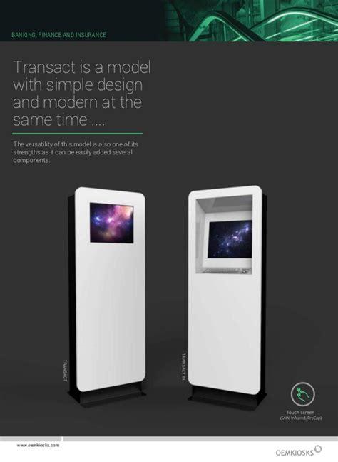 PAPER & Brochure - Self-Service Kiosks and Digital ... V Banks Model