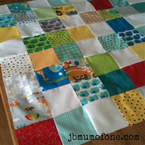 Quilts For Beginners by How To Make A Cotbed Quilt For Beginners Step 4 Sewing