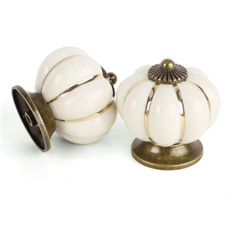 pomelli armadio 8 pomelli maniglia ceramica per cassetto armadio zucca