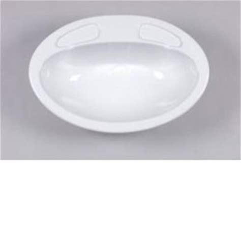 Plastic Vanity Basin by Caravan Vanity Sink Bowl White Caravan Plastic Sinks