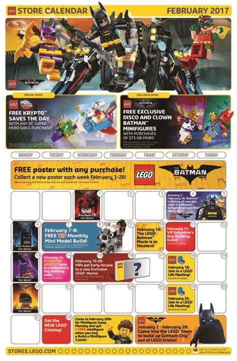 lego store calendar december 2017 february 2017 lego store calendar free promos events