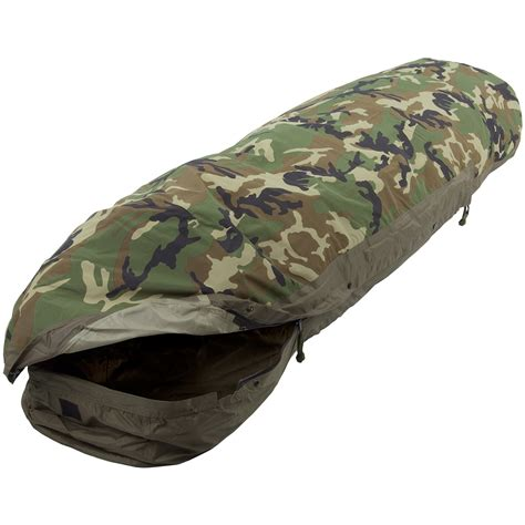 Sleeping Bag Mhw 3layer mil tec modular 3 layer sleeping bag cover woodland sleeping gear 1st
