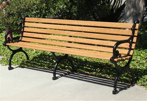 picture of a park bench 7 park bench town country event rentals
