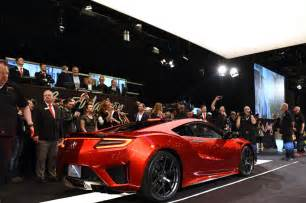 Acura Auction 2017 Acura Nsx Sells For 1 2 Million At Auction