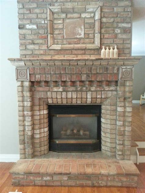electric brick fireplace how to convert a gas fireplace to electric stylish