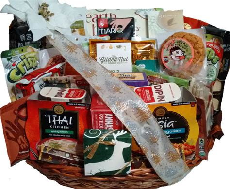 vegan gourmet gift basket vegetarian basket christmas