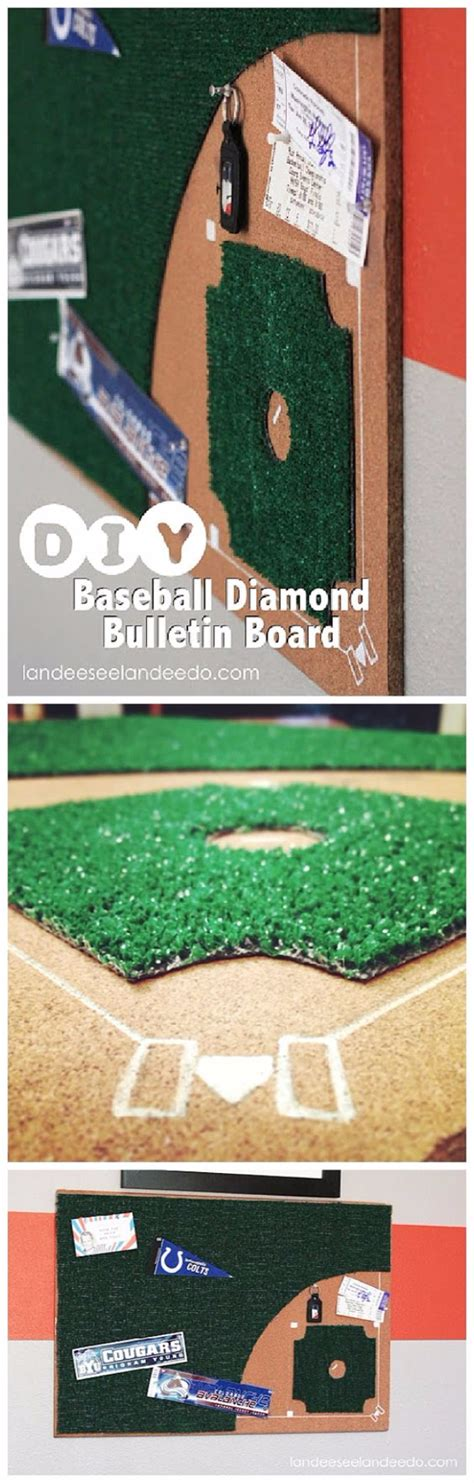 bedroom baseball board game 30 cool diy ideas for the sports fan in your life diy joy