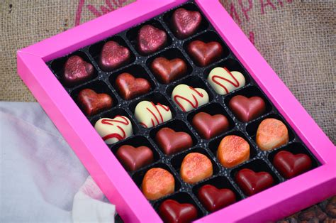 Handmade Chocolates Uk - 24 tastebud tingling handmade chocolates wickedly