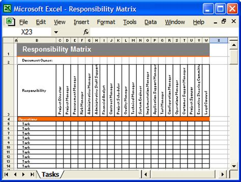 Operations Guide Template Pack Instant Download Forms Checklists And Spreadsheets Software Development Checklist Template Excel