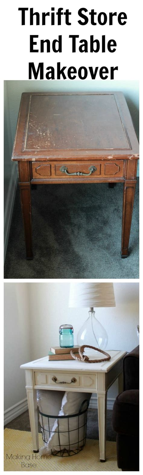 painted thrift store table and chairs end table makeover 14 thrift store find to perfect end
