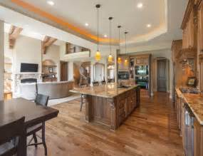 Open Concept Kitchen Designs open concept kitchen design ideas on large white house floor plan