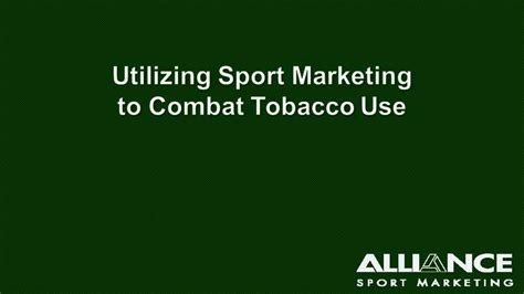 alliance sport marketing information